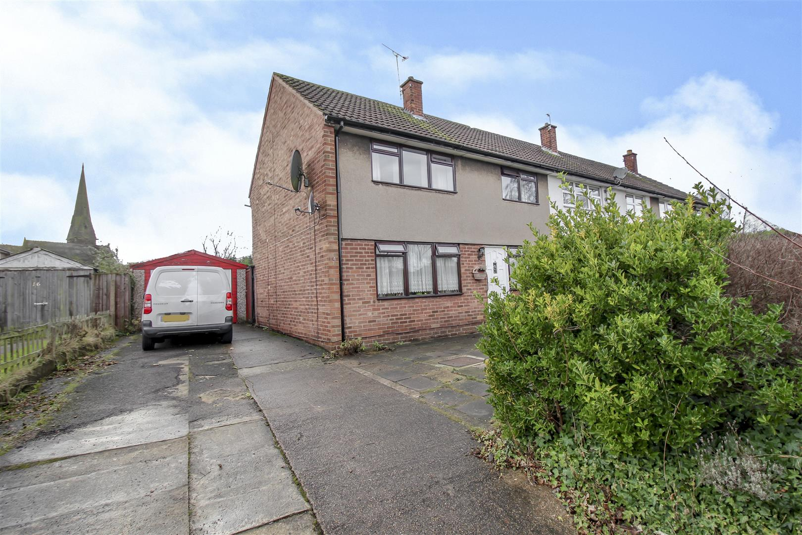 3 Bedrooms End Of Terrace House for sale in Hanley Avenue, Bramcote